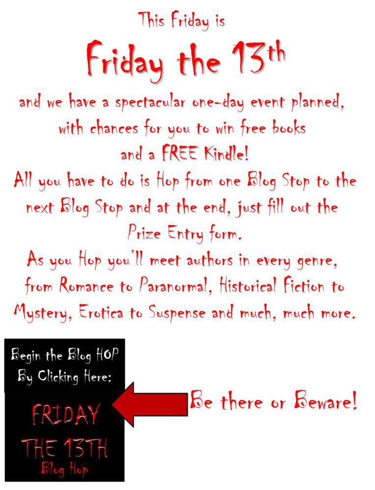 the Friday the 13th Blog Hop
