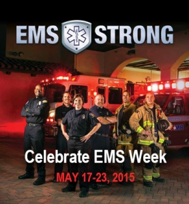 EMS Strong poster for Chelle